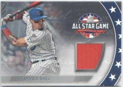 2018 Topps Update All Star Stitches Javier Baez