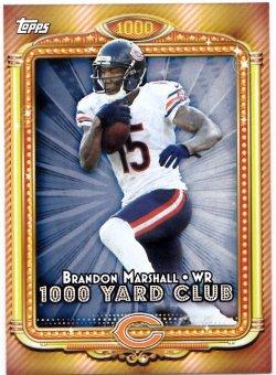 2013 Topps 1000 Yard Club Brandon Marshall