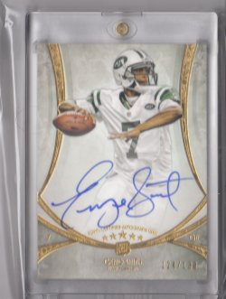2013 Topps Five Star Rookie Autographs Geno Smith