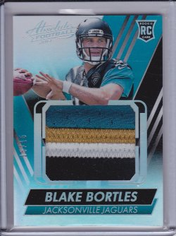 Blake Bortles 2014 Absolute Rookie Jersey Jumbo Patch /15