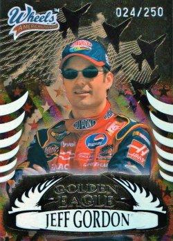 2004 Press Pass Wheels American Thunder Jeff Gordon