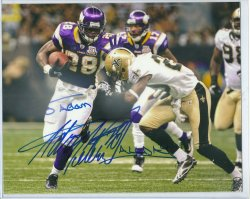 Adrian Peterson Personalized Signed 8x10