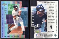 2000  Upper Deck Hit Brigade Die Cuts Frank Thomas
