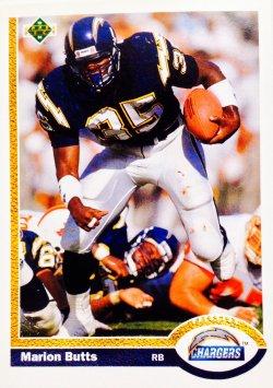 1991 Upper Deck  Marion Butts #147