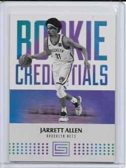 2017-18 Panini Status Jarrett Allen Rookie Credentials RC