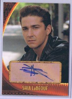 2009  Indiana Jones KOTCS Shia LaBeouf Autograph