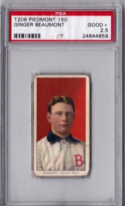 1909  T20 Piedmont 150 Ginger Beaumont