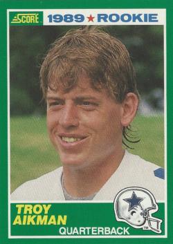 1989 Score  Troy Aikman