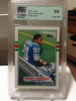 1989 Topps  Barry Sanders RC