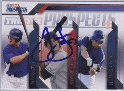 2009  Tristar Prospects Plus Brett Jackson / Jeffrey Kobernus IP Auto / Blake Smith