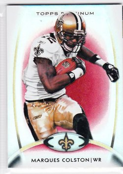 2012 Topps Platinum Red Marques Colston