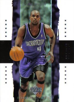 2003-04  Exquisite Collection Chris Webber #ed 82/225
