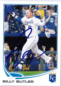 2013 Topps  Billy Butler IP Auto