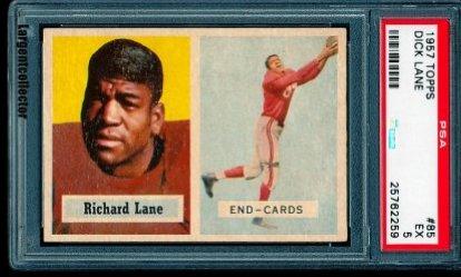 1957 Topps  Richard Lane