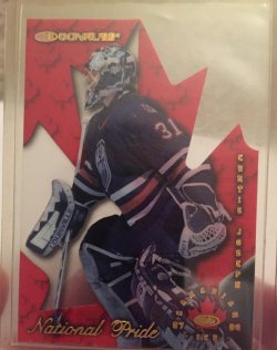 1997 Donruss Canadian Ice Curtis Joseph National Pride