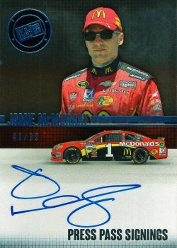 2015 Press Pass  Jamie McMurray