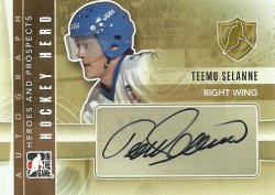 2011/12 In The Game Heroes and Prospects Autographs Selanne (SP)