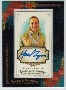 2009 Topps Allen & Ginter Autographs Mariel Zagunis