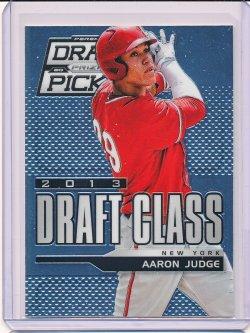 Aaron Judge 2013 Panini Prizm Perennial Draft Picks Draft Class