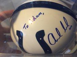 Andrew Luck Personalized Mini Helmet