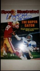 Dwight Clark 8x10 Photo IP Autograph