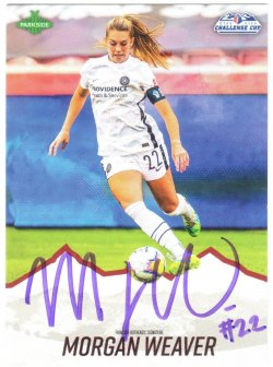 2020  Parkside NWSL Challenge Cup Signature Series Morgan Weaver