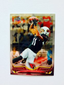2013 Topps Chrome Larry Fitzgerald #2