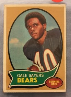 1970 Topps  gale sayers