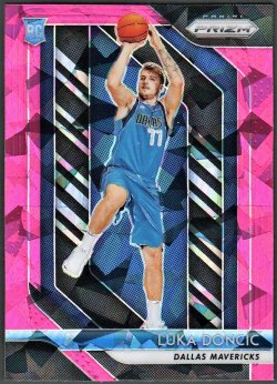 2018-19   Luka Doncic Prizm Pink Ice Refractor RC