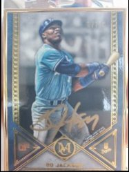 2019 Topps Museum collection  Bo jackson