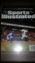 2014  Sports Illustrated Magazine  Hunter Pence IP Autograph