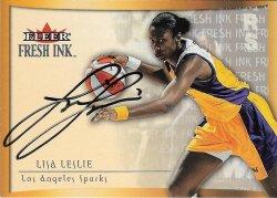 2000 Fleer WNBA Fresh Ink Lisa Leslie