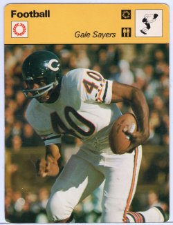 1977  Sportscaster Gale Sayers