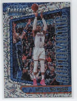 2018-19 Panini Threads Westbrook, Russell - Automatic Dazzle