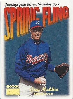 1999 SkyBox Premium - Spring Fling