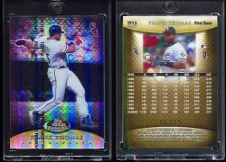 1999  Finest Team Finest Gold Refractor Frank Thomas