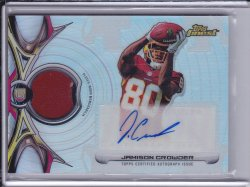 Jamison Crowder 2015 Finest Rookie Patch Autographs Refractor