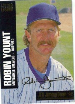 1992  Jimmy Dean Living legend Robin Yount