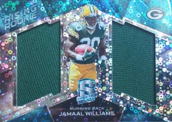 2017 Panini Spectra Jamaal Williams Dual Jersey