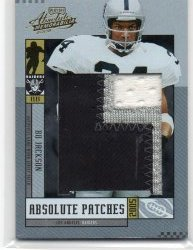 2005 Donruss Absolute Memorabilia Bo Jackson Absolute Patches