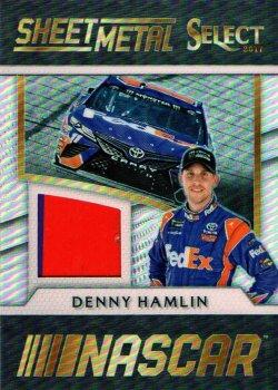 2017 Panini Select Racing Denny Hamlin