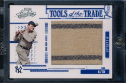 2005 Playoff Absolute BABE RUTH Tools of the Trade JUMBO 2X Pinstripe Jersey #/95