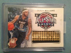 2012 Panini Elite Deron Williams