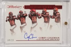 2016 Flawless Rookie Progression Red Signature