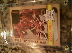 72 Topps All star Bobby hull