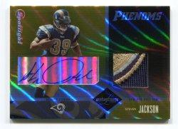 2004 Leaf Limited Steven Jackson Gold Spotlight