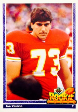 1991 Upper Deck Rookie Force Joe Valerio