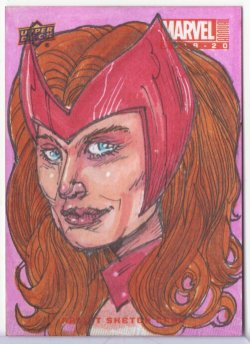 Marvel: Annual BRAD VOTH (SCARLET WITCH)