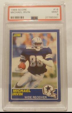 1989 Score  Michael Irvin