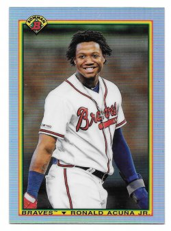 2020 Topps Bowman Chrome 90 Bowman Ronald Acuna, Jr.